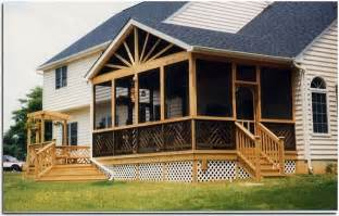 Screened In Deck Plans by Screened Porch Building Plans