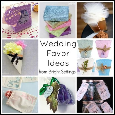 wedding favor ideas my projects from country chic