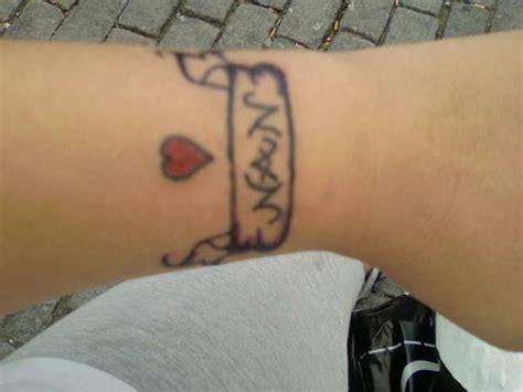 nan tattoo on wrist nan tattoo