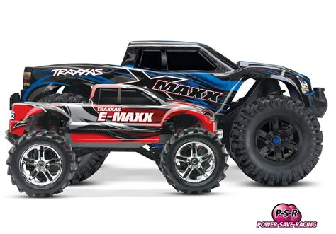 Maxx Shop by Traxxas 77076 4 X Maxx Rtr Brushless Waterproof Psr Shop