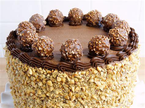chocolate cake ferrero rocher easy ferrero rocher cake recipe