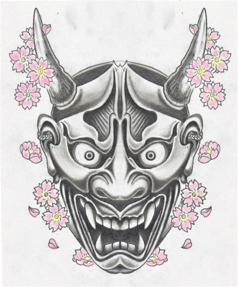 hannya mask tattoo design 1000 ideas about hannya mask on