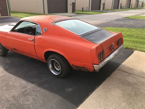 mustang fastback project for sale 1969 ford mustang fastback sport roof project car for sale