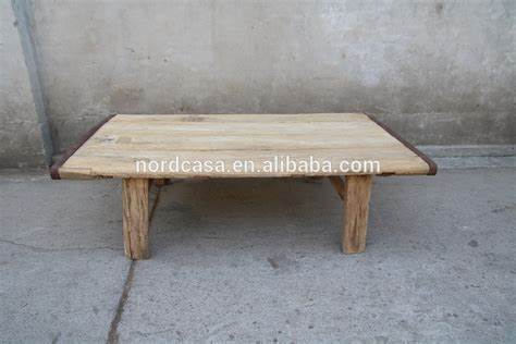 Coffee Table Square Pine Wood vintage reclaimed wooden furniture square coffee table