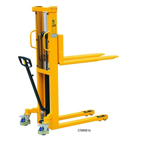 Liftrer Stacker Manual 1000 manual stackers 500kg or 1 000kg capacity ese direct