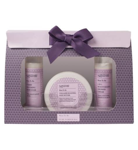 Eco Pregnancy Gift Set by Sanctuary To Be Ultimate Retreat Hat Box Was 163 17 99