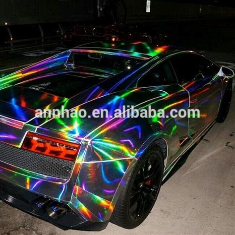 rainbow chrome premium chrome laser rainbow mirror chrome vinyl