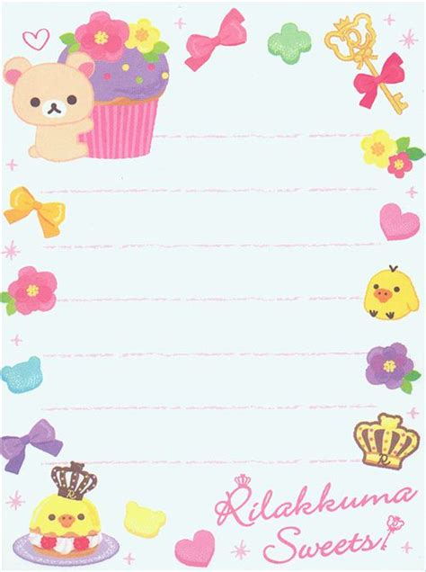 Frame Rillakuma san x rilakkuma mini memo pad stawberry cake memo pads stationery kawaii shop modes4u