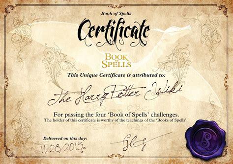 book of spells challenges harry potter wiki fandom