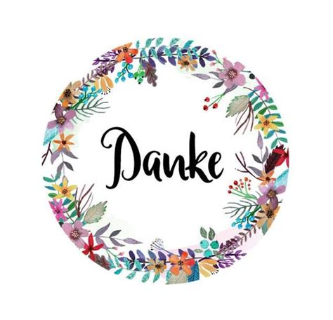 Sticker Postkarten Drucken by Sticker Quot Danke Quot Danke Aufkleber Watercolor Aquarell