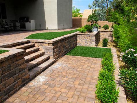 back yard installations contemporary landscape las