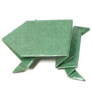 how to make an origami jumping frog page 1