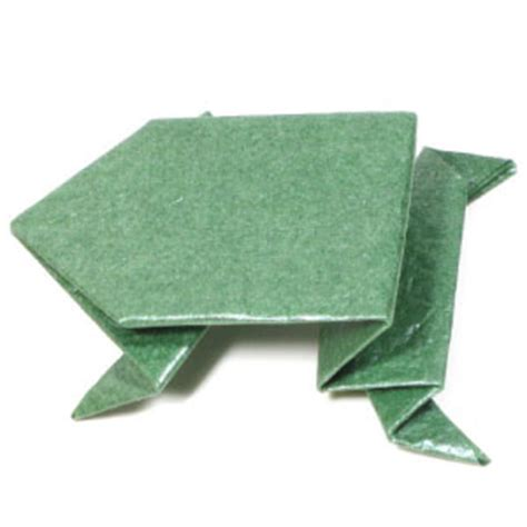 How To Make An Origami Jumping Frog - pin frog origami on