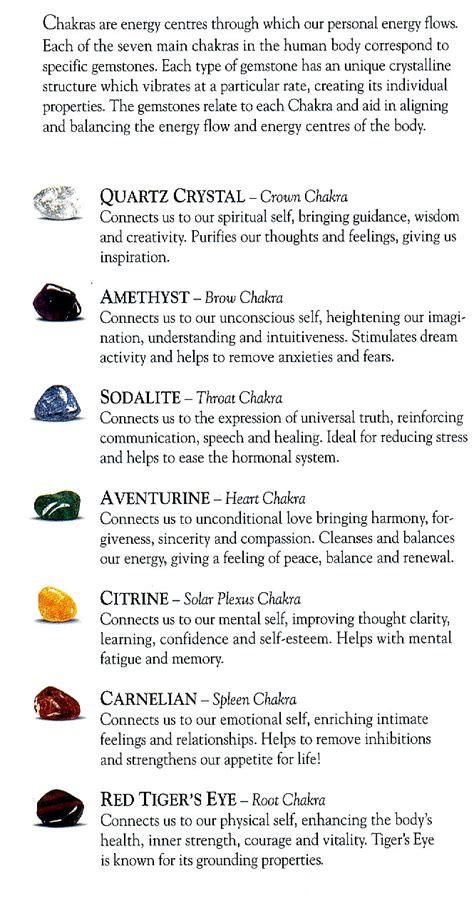 spiritual meaning of gemstones gemstonemeanings color
