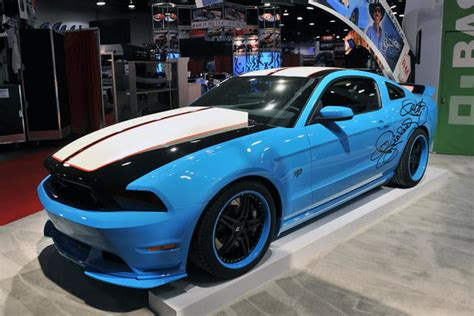 ford mustang sema custom car pictures digital trends
