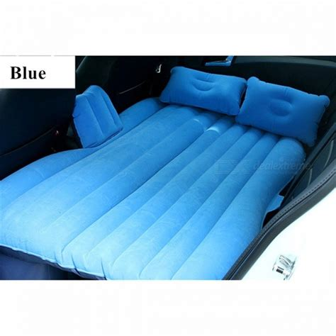 p top quality car back seat cover air mattress travel bed blue free shipping
