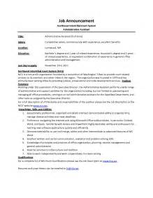 Assistant Description Resume by Executive Assistant Description