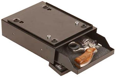 under desk gun safe under desk pistol safe stashvault