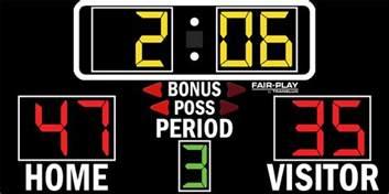 bb 1500 4 fair play scoreboards