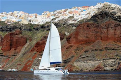 catamaran resort hotel 5 pegas santorini sailing cruise tours 1 day catamaran sailing