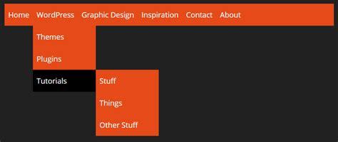 css tutorial little web hut pure css responsive menu tutorial
