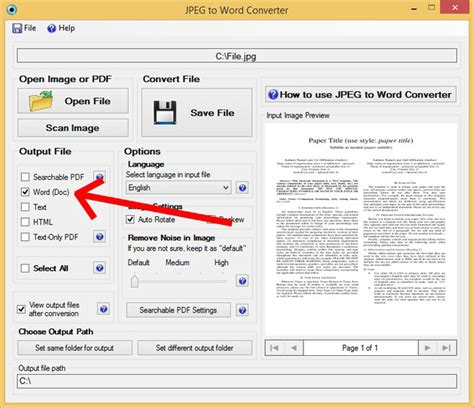 converter jpg to word how to effectively convert jpeg files to word document