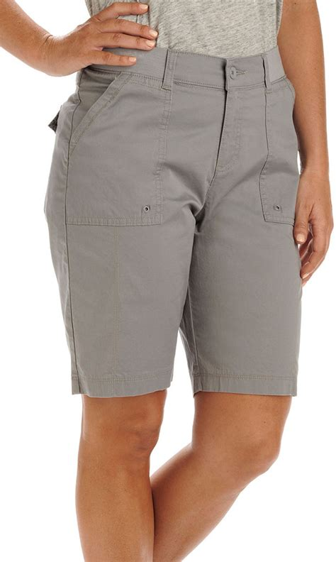 knit waist shorts womens relaxed knit waist bermuda shorts ebay