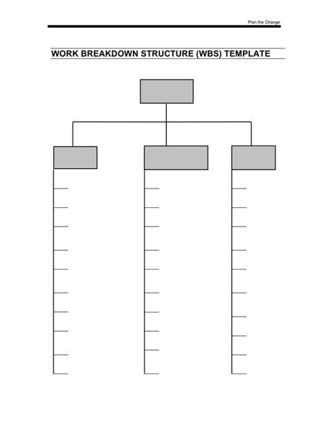 Work Breakdown Structure Template Download Free Documents For Pdf Word And Excel Work Breakdown Structure Template Word