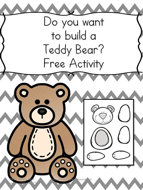 kindergarten activities bears do you want to make a teddy bear fun craft for kids