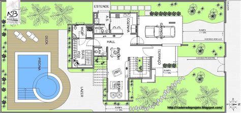 Programa Para Desenhar Planta Baixa Com Medidas projetos de casas modernas fotos e plantas baixas