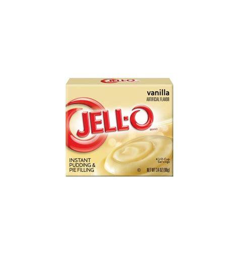 Instan By Vanilla jello vanilla pudding cups ingredients