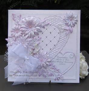pamscrafts friends quot pearl wedding anniversary quot card