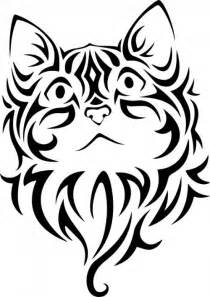 Tattoo Cat Vector Image  Public Domain Vectors Ideas sketch template