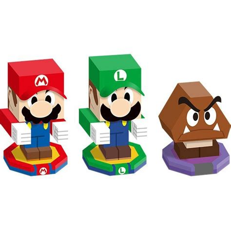 Luigi Papercraft - pre ordering mario luigi paper jam will net you a