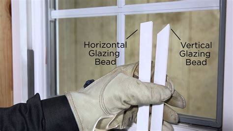 replacement upvc window beading 1500 series glazing bead removal and installation