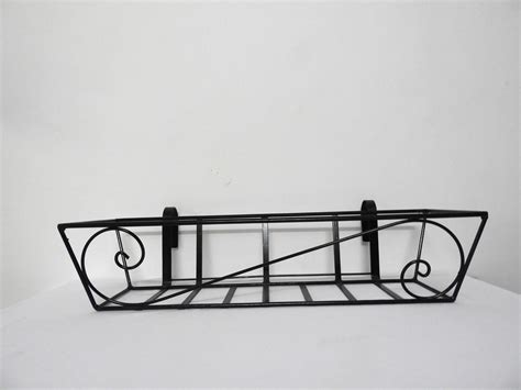 Planters For Wrought Iron Railings by Wroughtiron Railingplanter Big S Pattern 2 Grow And Glow Gardens