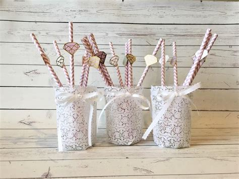 vintage centerpieces for baby shower 3 lace covered jar vintage wedding decor rustic