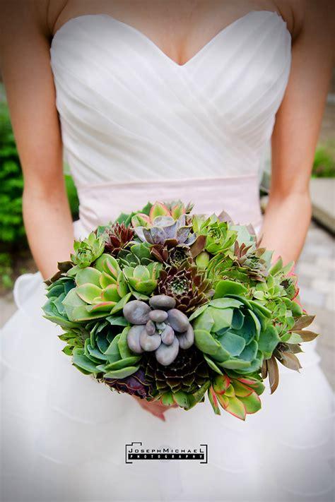 Wedding Bouquet Succulents by Succulent Bouquet Teaser Photos