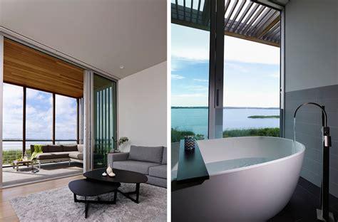 cove residence interiors stelle lomont rouhani architects award winning modern architect