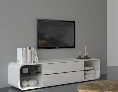 White Gloss Tv Stand Cabinet by Slate Modern Tv Cabinet In White Gloss Grey Or White