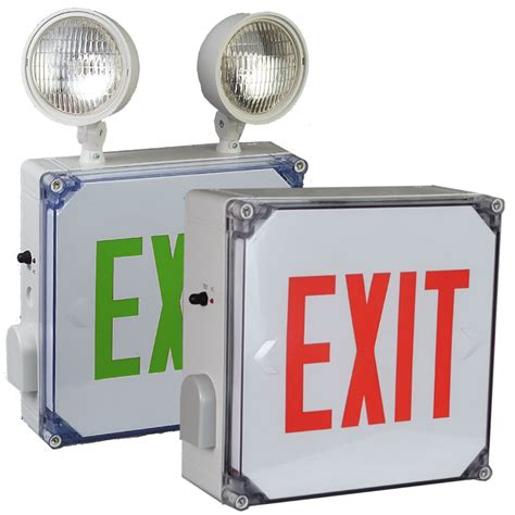 location emergency exit light location exit sign led combination big beam wlx