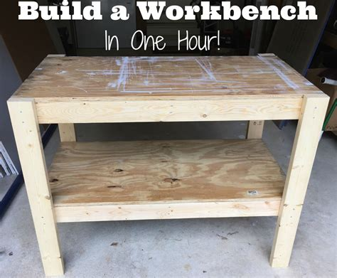 diy workbench   plans  cut list   craft