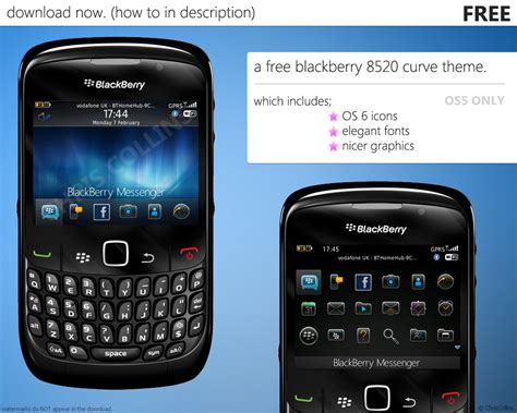 themes blackberry curve 8520 rev 8520 theme by chris collins on deviantart