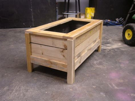Pallet Planter Box Plans by Pallet Planter Box By Fenters Lumberjocks