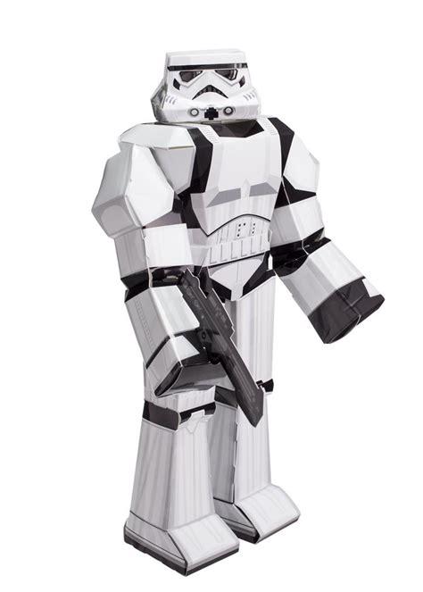 Papercraft Wars - blueprints paper craft wars trooper 12914