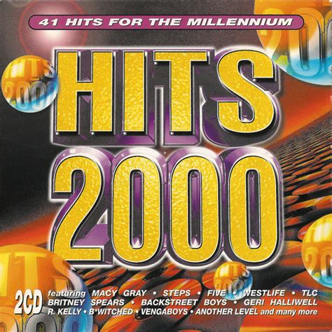 Various Hits 2000 41 Hits For The Millennium Cd At Discogs