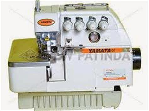 Sepatu Mesin Obras Yamata mesin jahit jenis dan fungsinya tehnisi mesin jahit