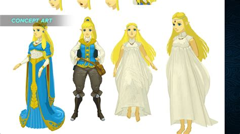 zelda design dress check out breath of the wild s link and zelda transition