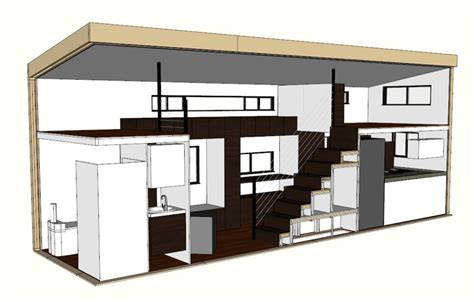 Home Design 8x16 by Tiny House Plans Home Architectural Plans