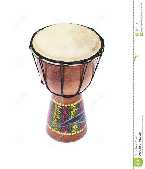 Black Tamtam djembe drum tam tam isolated on white background stock photo image 42373714